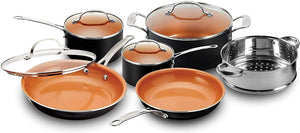 Gotham Steel Cookware + Bakeware Set with Nonstick Durable Ceramic