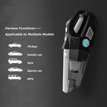 Cordless Handheld Vacuum for Home, Office & Auto w/Integrated Tire Inflator.