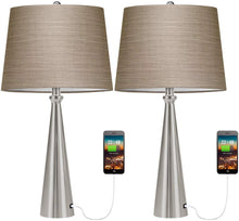 USB Table Lamp Set of 2.