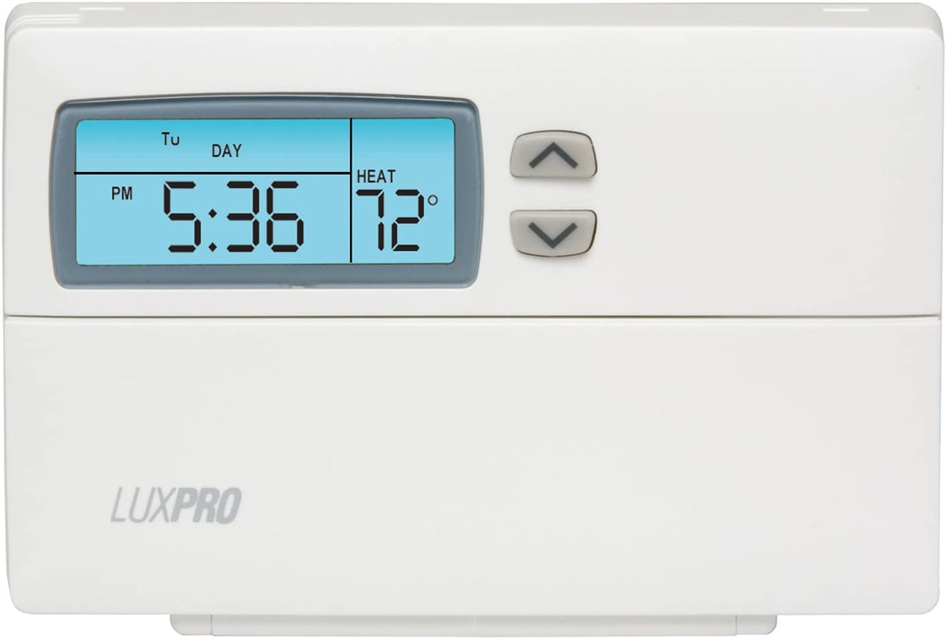 Thermostat Separate Program for Heating and Cooling.
