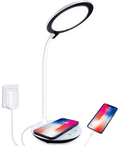 Touch Control Desk Lamp with Wireless Charger