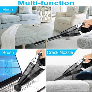 Handheld Vacuum, Hikeren 7Kpa Powerful Suction Wet & Dry Vacuum