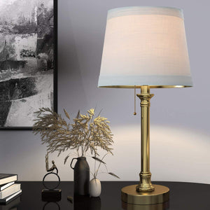 "Table Lamp Set of 2 for Bedroom Living Room 20""."
