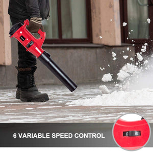 Electric Leaf Blower,  6 Variable Speed Leaf Sweeper for Lawns, Yards, Patios.
