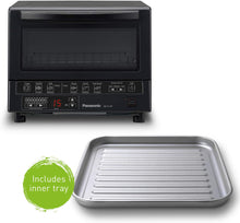 Panasonic FlashXpress Compact Toaster Oven with Double Infrared Heating,