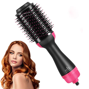 Hair Dryer Brush, Multi-Purpose Hot Air Brush, Hair Dryer Volumizer & Styler for Straightening,