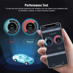 Fault Code Reader Plus Battery Tester Exclusive App for Quality-Newest Generation