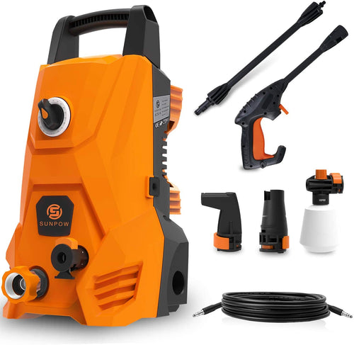 Electric Pressure Washer, Portable High Power Washer Machine