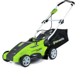 16-Inch 10 Amp Corded Electric Lawn Mower, Corded Electric, 37.5 Pounds.
