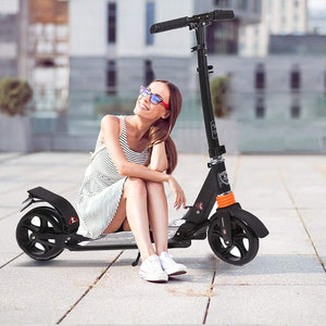 Folding Adjustable Scooter with Disc Brake and 200mm Large Wheels