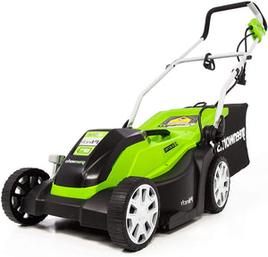 14-Inch 9 Amp Corded Electric Lawn Mower, 33.3 Pounds, Corded Electric.