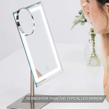 Waneway Lighted Makeup Vanity Mirror with 80 LEDs Lights and 10X