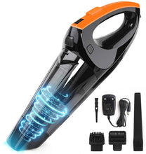 Portable Hand Vacuum Powered by Li-ion Battery Rechargeable Quick Charge Tech