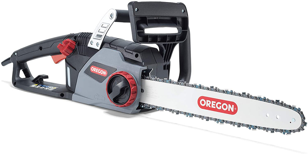 Corded Electric Chainsaw, 16 in. (40cm) Reduced-Kickback Guide Bar..