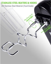 Hand Mixer, MOSAIC 3 Speed Electric Hand-held Mixer with Turbo,