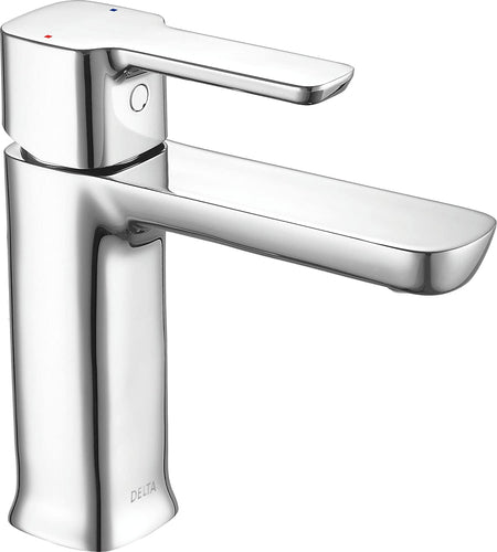 Delta Faucet Modern Single Hole Bathroom Faucet, Single Handle Bathroom Faucet