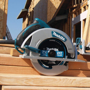 7-1/4-Inch Circular Saw , Corded Electric , 5800 RPM , Two built in L.E.D lights..