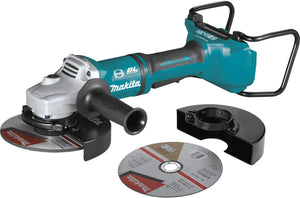 "36V Brushless Cordless 7"" Paddle Switch Cut-Off/Angle Grinder, with Electric Brake."