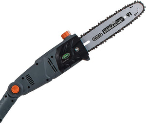 10-Inch 8-Amp Corded Electric Pole Saw, 7 Pounds,  Adjustable Head & Oregon Bar..