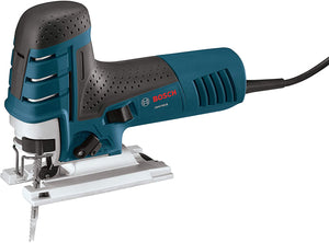 Bosch 7.0 Amp Corded Variable Speed Barrel-Grip Jig Saw JS470EB with Carrying Case, Blue.