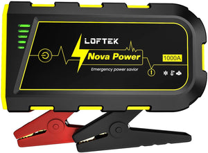 LOFTEK Portable Car Battery Jump Starter (Up to 7.0L Gas or 5.5L Diesel Engine)