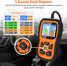 Vehicle Code Reader Auto Diagnostic Check Engine Light for All OBDII Car After 1996[Upgrade Version]