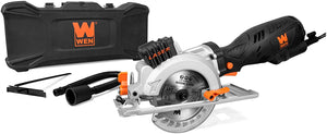 5-Amp 4-1/2-Inch Beveling Compact Circular Saw with Laser and Carrying Case.