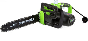 Electric Chainsaw, 14-Inch, 8 pounds.