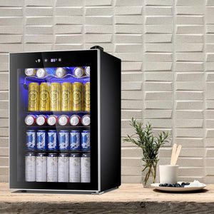 Antarctic Star Beverage Refrigerator Cooler-120 Can Mini