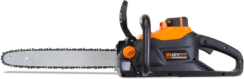 40V Max Lithium Ion 16-Inch Brushless Chainsaw with 4Ah Battery and Charger..