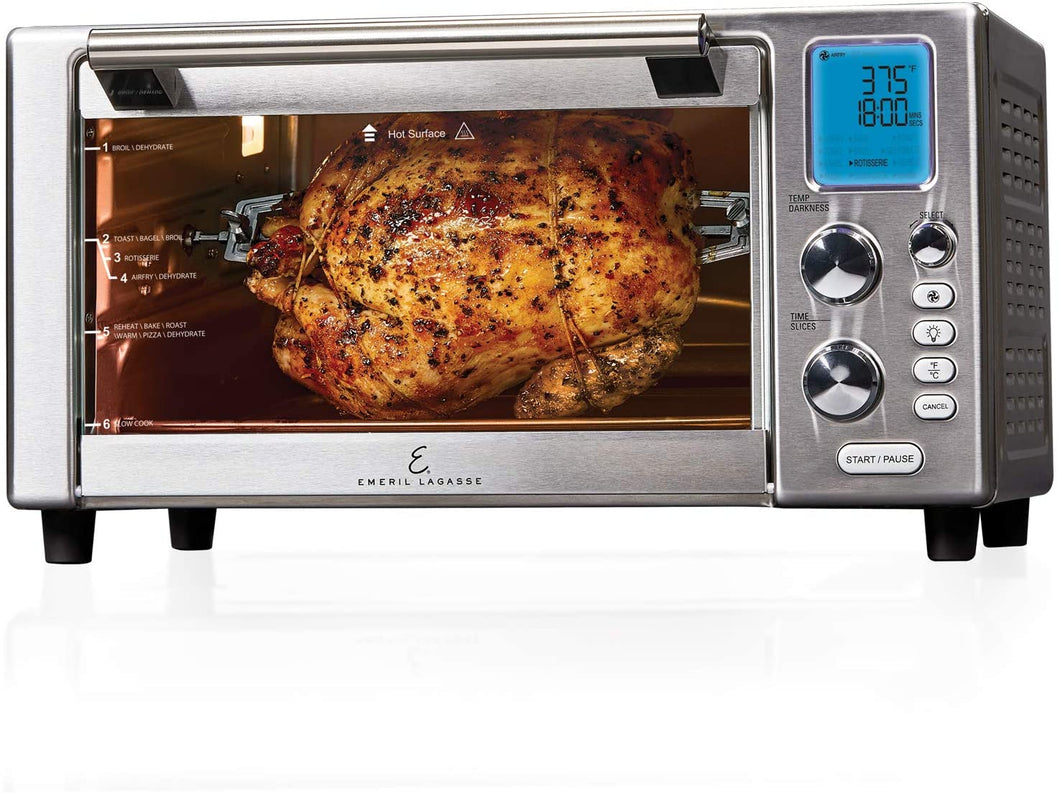"Emeril Everyday 360 Deluxe Air Fryer Oven, 15.1"" x 19.3"" x 10.4"""