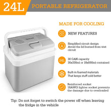 12V DC Portable Thermoelectric Car Cooler