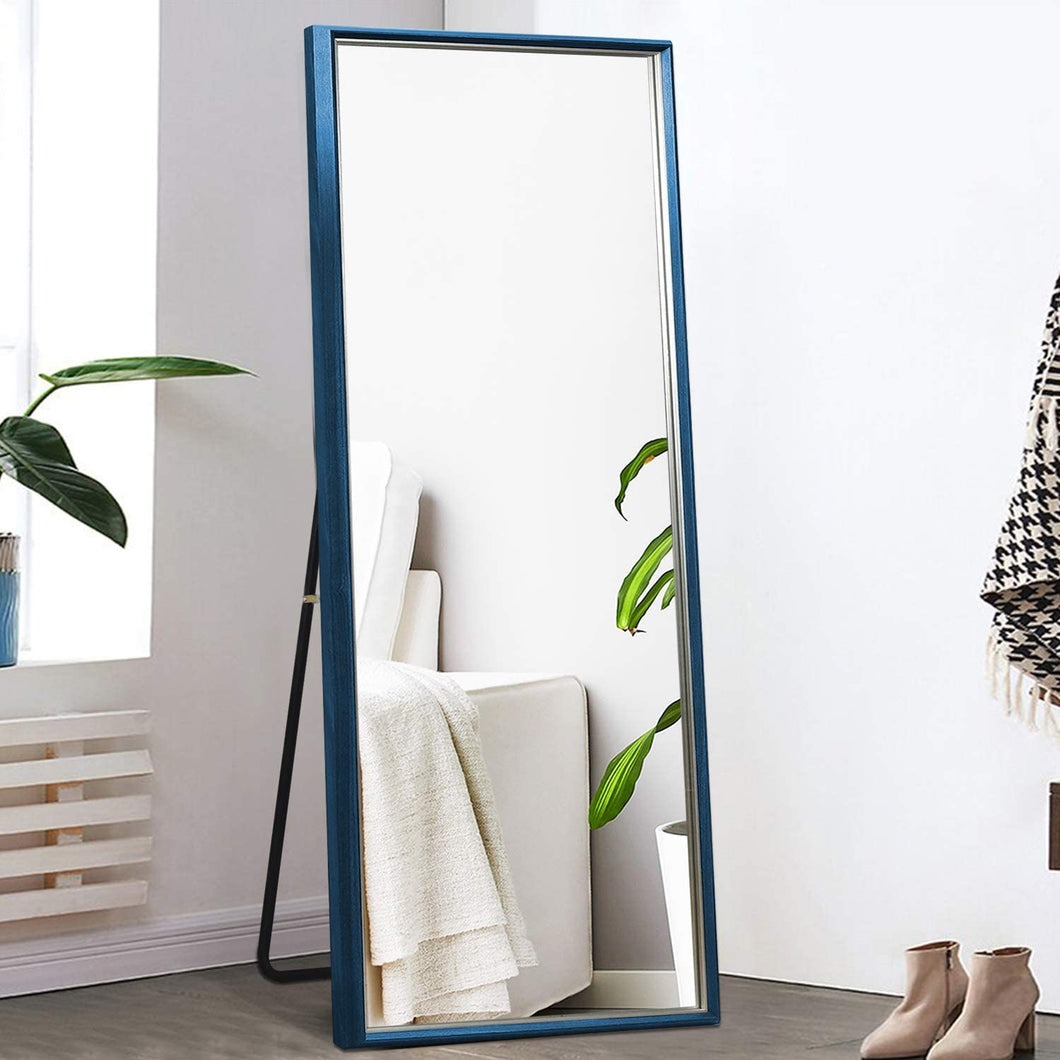 Large Rectangle Standing Mirror / Color: Dark Blue-Size: 65
