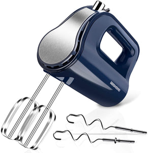 REDMOND Hand Mixer, 5-Speed Electric Hand Mixer with Turbo