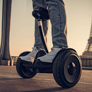 Portable and Powerful Smart Self-Balancing Intelligent Segway | Black and White
