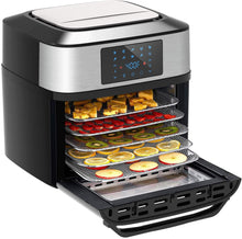 10-in-1 Air Fryer Oven, 20 Quart Airfryer Toaster Oven Combo, 1800W Large Air Fryers