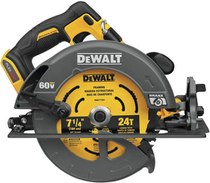 60V MAX Circular Saw with Brake, 7-1/4-Inch, Tool Only.