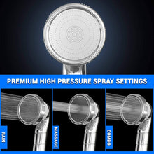 PureAction Luxury Filtered Shower Head with Handheld Hose