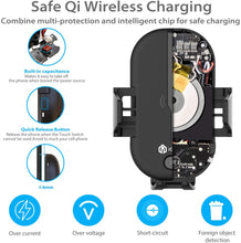 Automatic Infared Touch Sensor Wireless Qi Fast Charging