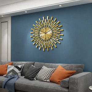 Large Wall Clocks for Living Room Decor 23.6 inch