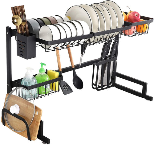 Dish Rack Over the Sink Dish Drying Rack Kitchen Rack Shelf Dish Drainer