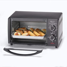 Betty Crocker BC-1664CB toaster oven, standard, Black