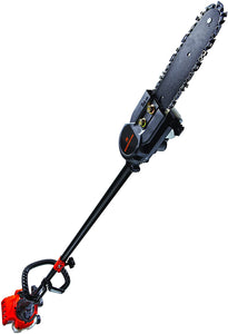 2-Cycle Gas Saw with 7 Foot Extension Pole for Tree Trimming and Pruning..