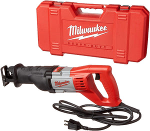 12 Amp Corded 3000 Strokes Per Minute Reciprocating Sawzall, With Speed Trigger.