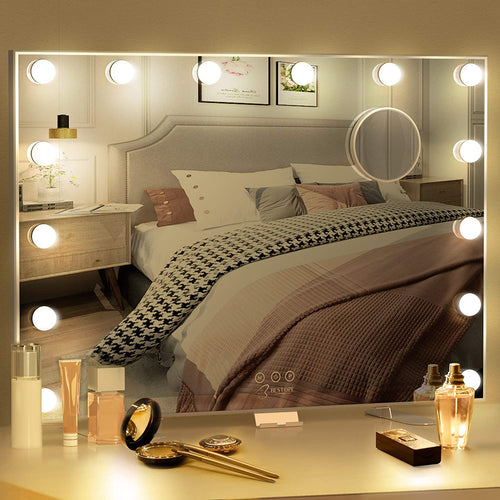 BESTOPE Vanity Mirror with Lights Hollywood Mirror Large Lighted