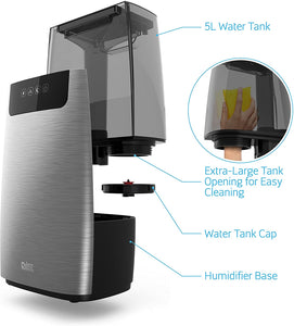 Humidifier for Large Rooms Lasts up to 50 Hours