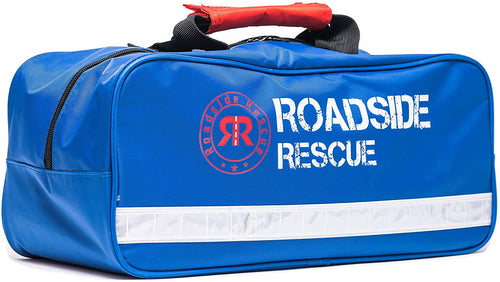 Roadside Emergency Assistance Kit - Packed 110 Premium Pieces & Rugged Bag