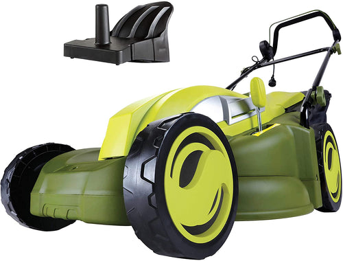 17-Inch 13-Amp Electric Lawn Mower/Mulcher, Corded Electric, 31.5 pounds.
