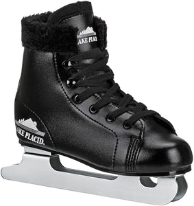 Boy's Double Runner Figure Ice Skate, Black / Size 1
