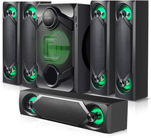 Nyne NHT5.1RGB 5.1 Channel Home Theatre System – Bluetooth Audio